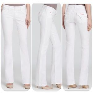 Hudson | Beth Baby Bootcut  White Jeans Size 26